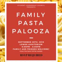 School of Divinity Family Pasta Night