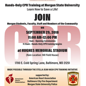 Hands-Only CPR Training at Morgan State University