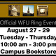 Balfour Official WFU Ring Event