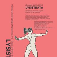 Drama BFA Production: Lysistrata adapted by Ellen McLaughlin, directed by NJ Agwuna