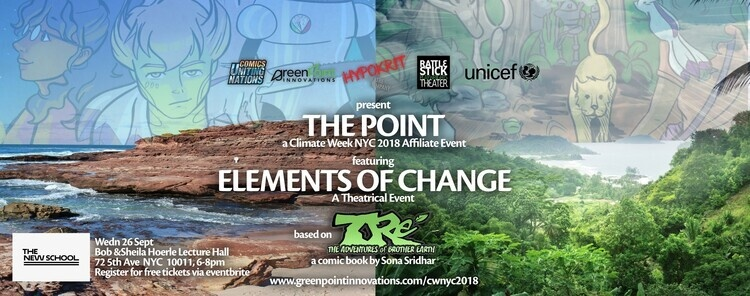 THE POINT: Elements of Change // a Theatrical Climate Week