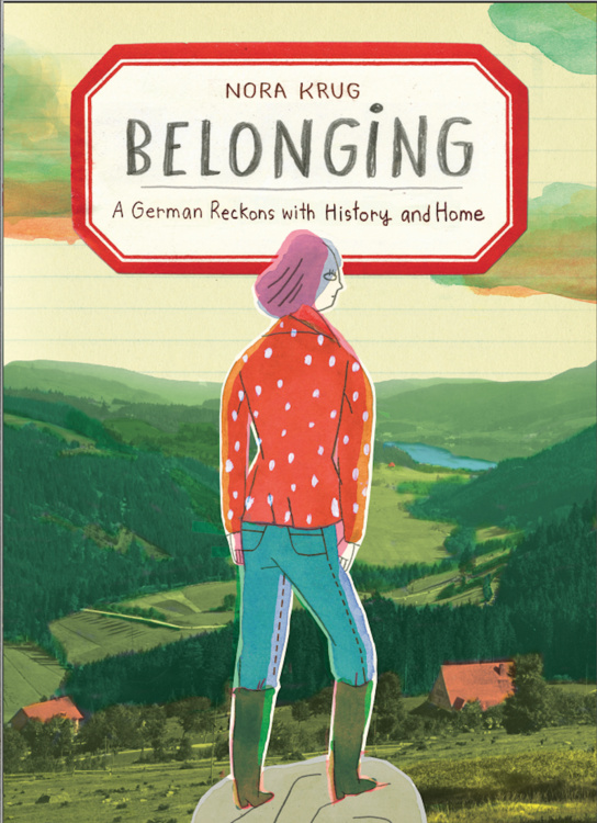 """Book Release Party for Prof. Nora Krug's """"Belonging"""""""