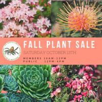 UCSC Arboretum Fall Plant Sale 2018