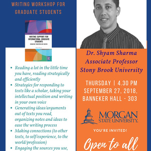 Writing Workshop for Graduate Students