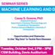 Seminar Series - Machine Learning and Data Science: Casey Greene Talk