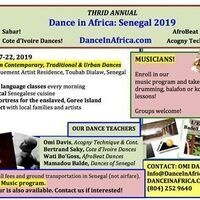 Dance in Africa Interest Meeting