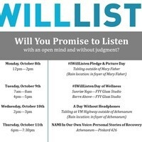#IWillListen - NAMI In Our Own Voice:  Personal Stories of Recovery