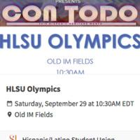 HLSU Olympics CON TODO