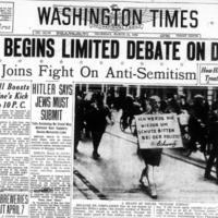 The Gauntlet Has Been Thrown: Newspapers, Op-Eds, and American Responses to Antisemitism