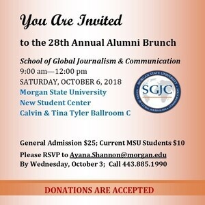 School of Global Journalism and Communication : 28th Annual Alumni Brunch
