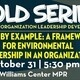 SOLD Series Workshop | Lead by Example: A Framework for Environmental Leadership in an Organization