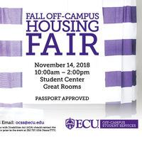 Fall Off-Campus Housing Fair