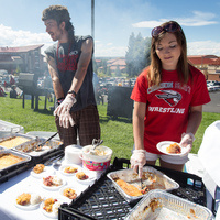 Student-only tailgate