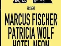 Sounds et Al: Marcus Fisher, Patricia Wolf, Hotel Neon