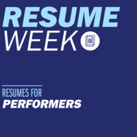 Resumes for Performers