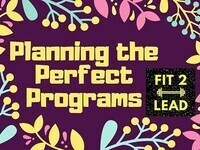 Planning the Perfect Programs (Cancelled)