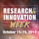 Research & Innovation Week - Oct 15-19
