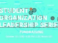 Student Organization Leader Series: Fundraising
