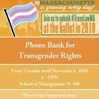 Phone Bank for Transgender Rights