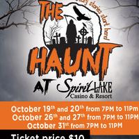 The Haunt - Haunted Ballroom at Spirit Lake Casino and Resort