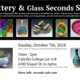 Pottery and Glass Seconds Sale