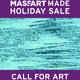 CALL FOR ART - MassArt Made Holiday Sale