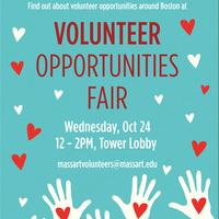 MassArt Volunteer Opportunities Fair