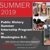 Info Session: Public History Internship Program