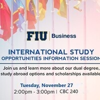 International Study Opportunities Information Session
