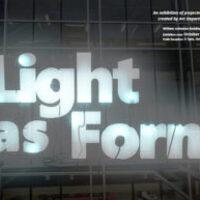 Light as Form