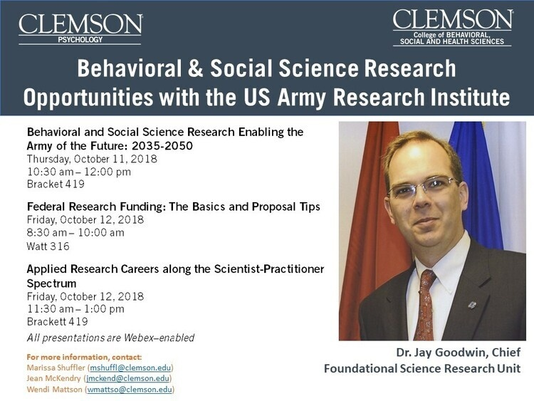 Behavioral & Social Science Research Opportunities with the US Army Research Institute: ENABLING THE ARMY OF THE FUTURE:  2035-2050