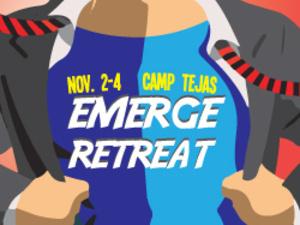 Emerge Retreat's event graphic
