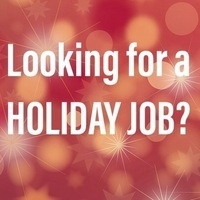 Holiday Hiring!