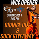Men's Soccer vs. St. Mary's College -- Orange Out game!