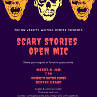 Scary Stories Open Mic
