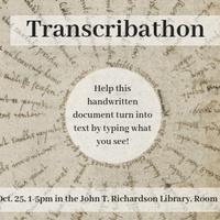 Transcribathon- Turn a 17th Century Handwritten Document into Text