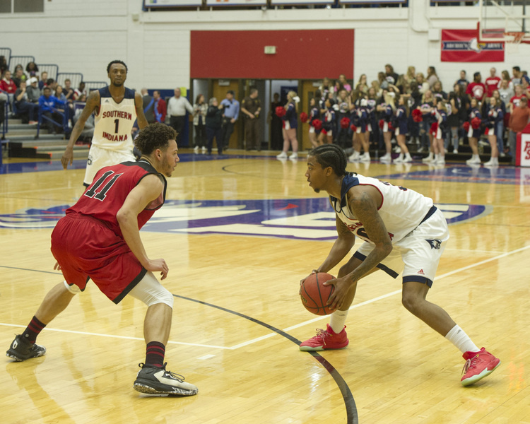 USI Men's Basketball vs  Missouri S&T at Physical Activities Center