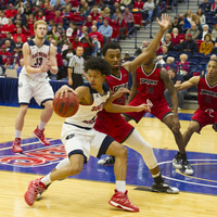 USI Men's Basketball vs  Quincy University