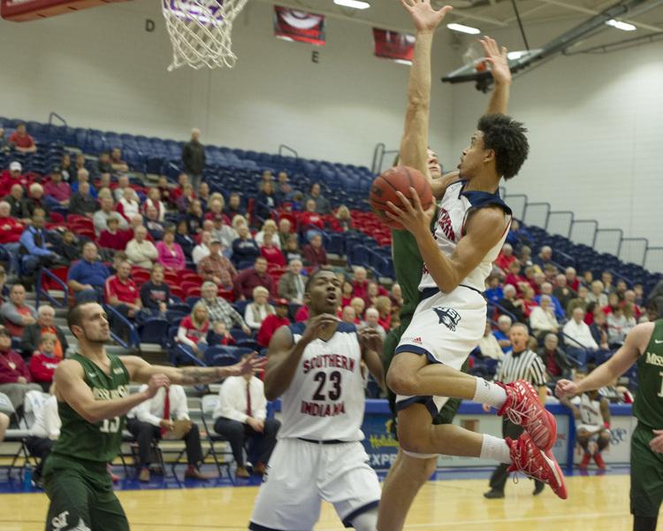 USI Men's Basketball vs  Ohio Valley University at Physical Activities Center