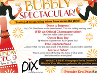 A Bubbly Spectacular