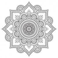 Find your #flow: Mandalas