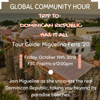 Global Community Hour: Trip to Dominican Republic