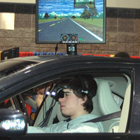 Drunk Driving Simulator Car