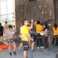 Top Rope Belay Lesson