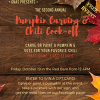 Second Annual Pumpkin Carving and Chili Cook-off