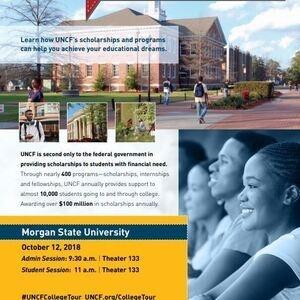 UNCF Visits Morgan State University