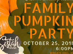 Sistah Circle Family Pumpkin Party