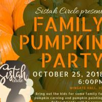 Sistah Circle Family Pumpkin Party