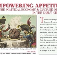 Conference: Empowering Appetites: The Political Economy and Culture of Food in the Early Atlantic World (USC EMSI)
