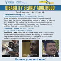 Lunchtime Learning: Disability & Early Adulthood